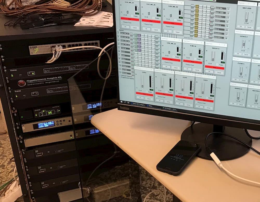 audio vizualis rendszerek üzemeltetése